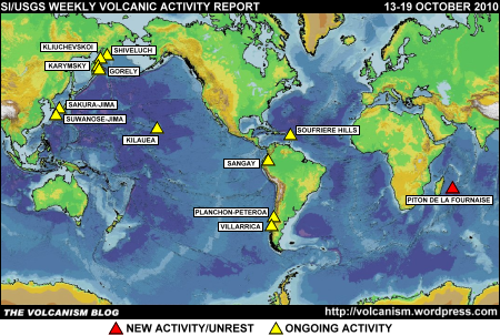 SI/USGS Weekly Volcanic Activity Report 13-19 October 2010