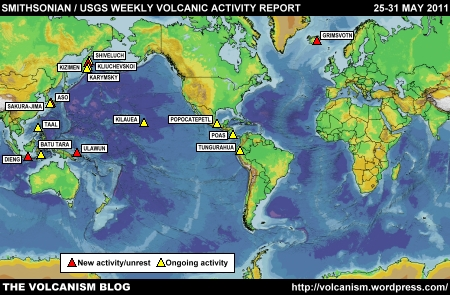 SI/USGS Weekly Volcanic Activity Report 25-31 May 2011