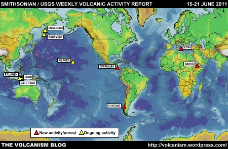 SI/USGS Weekly Volcanic Activity Report 15-21 June 2011
