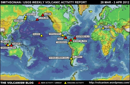 SI/USGS Weekly Volcanic Activity Report 28 March to 3 April 2012